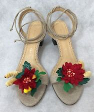 Charlotte Olympia Women Shoes Size 37.5 New Flower