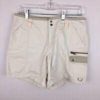 Columbia Womens 8 Utility Cargo Shorts Cotton 0106 AL 4417 Act W 29.5 x I 5 3/4