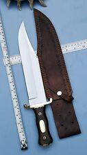 Ursa's Custom handmade 5160 Spring Steel Iron Mistress Bowie knife UI-68AA
