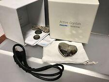 Swarovski Philips Activ Crystal Kette / USB - Stick Herz. Top Zustand