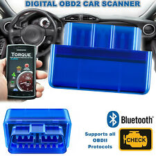 ELM327 V1.5 Bluetooth OBDII Car Diagnostic Tool OBD2 Code Reader Scanner Tool