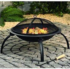 New Fire Pit Log Burner Garden Patio Heater Kingfisher