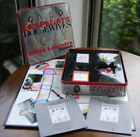 Desperate Housewives Dirty Laundry Board Game in Collectible Tin