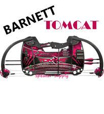 New Barnett Crossbows Tomcat in Pink Girls Junior Archery Compound Bow Set 4H