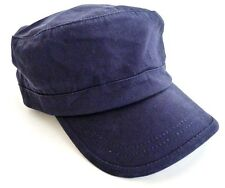 MILITARY DRILL CAP vintage 70s US forces Gents army field hat navy cotton Mens