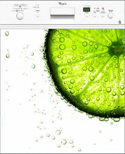 Sticker pour lave vaisselle déco électroménager Citron réf 217