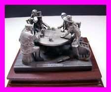 "Chilmark Fine Pewter Figurine By Polland 1983 ""TOO MANY ACES"" #1017/2500"