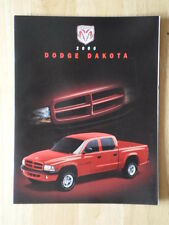 Dodge Dakota Orig 2000 canadiense Mkt folleto de ventas