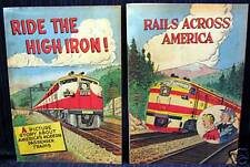 "1955 Railroad Conductor Comic Book /""Ride the High Iron/"" 16 Page Depot Give Away"
