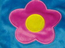 WONDERFUL LILLIAN VERNON BLUE PINK SPRING FLOWER PURSE SOFT HAND BAG PURSE LOVEY