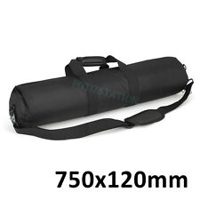 "750mm Padded Camera Tripod Carry Bag Light Stand 29.3"" For Manfrotto Velbon etc"