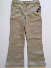 New CHAPS Girls Approved Schoolwear 4 Regular Khaki Skinny Stretch Bootcut Pants