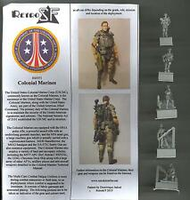 RetroKits Models 1/72 COLONIAL MARINES from the Movie Aliens Resin Kit