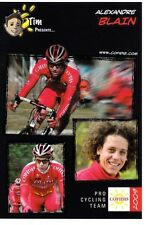 CYCLISME carte cycliste ALEXANDRE BLAIN équipe COFIDIS 2009