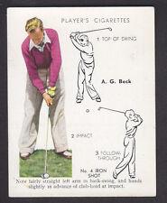 John Player - Golf 1939 (Overseas) - # 3 No. 4 Iron Shot