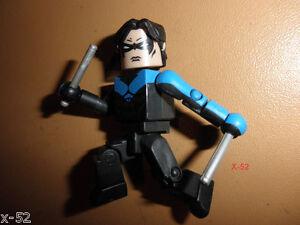 NIGHTWING minimates FIGURE toy RARE former robin DC BATMAN UNIVERSE justice leag