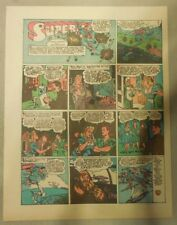 Superman Sunday Page #205 by Siegel & Shuster from 10/3/1943 Tab Page:Year #4!