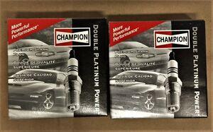 Champion 7963, Spark Plug, Double Platinum, Set of 8