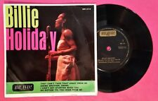 """45rpm EP - Billie Holiday - """"Billie Holiday"""" EP (VG/VG)"""