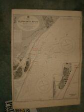 Vintage Admiralty Chart 969 BRAZIL - PERNAMBUCO ROADS 1921 edn