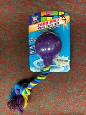 The Zany Bunch Ball Rope Twister Electronic Dog Toy