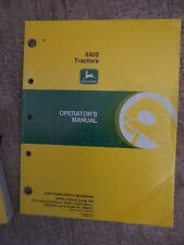 1990s John Deere 6405 Tractor Operator Manual More Deere Items In Our Store R