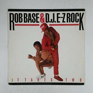 ROB BASE & DJ EZ ROCK It Takes Two PRO1267 Masterdisk LP Vinyl VG++ Cover VG+