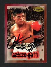 Arturo Gatti Autographed Signed 1996 Ringside Auto Card #45 JSA #G13935