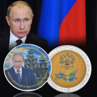 WR Russian President Vladimir Putin's Tough Stance Silver  Collection Coin