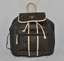 $79 GUESS Nichols Backpack School Book Bag Sac Purse Logo Blue Black Pink New