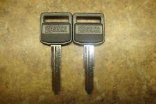 2 Suzuki Motorcycle Key Blanks, Bandit, Boulevard, Burgman, DL, DR, Gladius, GS