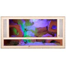 REPITERRA Terrarium 80x50x50cm Frontbelüftung Holzterrarium OSB Holz Reptilien