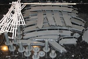 REVELL LARGE LOT  ASSORTED TRACK PIECES FROM 1965