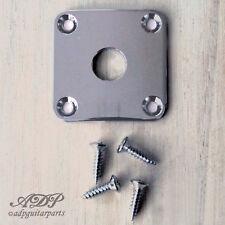 Plaque Input Gotoh Jack Plate style Gibson Epiphone Les Paul SG CHROME JLP0C