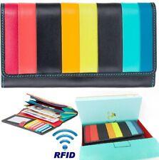 Visconti Santorini Kos High End Leather RFID Ladies Coin Cash Purse Gift Boxed