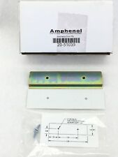 NEW! AMPHENOL 20-51039  CONNECTOR BLOCK DIN RAIL MOUNTING BRACKET  (H280)