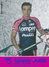 CYCLISME carte cycliste ROBERTO CONTI équipe LAMPRE PANARIA ceramica 1994