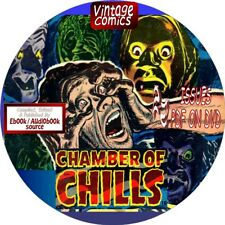 CHAMBER OF CHILLS COMIC BOOKS - 22 VINTAGE ISSUES - PDF FILES ON DVD - HORROR