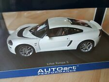 AUTOART 1:18 LOTUS EUROPA S WHITE