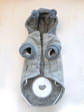 Hochwertiger Hundemantel Grau - Gr. M - WIE NEU