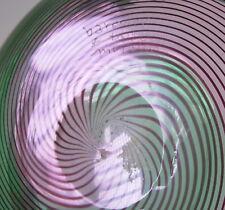 Profundidad Murano cáscara-filigrana-a espiral-sign. barovier & toso 1975 - 21cm