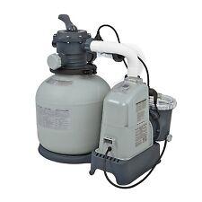 New Intex 120V Krystal Sand Filter Pump & Saltwater System CG-28675 -with E.C.O.