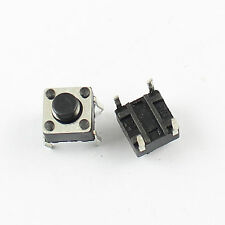 100Pcs Momentary Tactile Tact Push Button Switch 4 Pin DIP 6x6x5mm High 5mm