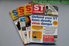 ATARI ST format magazines rétro jeu d'ordinateur-beaucoup de questions-Combiné p&p