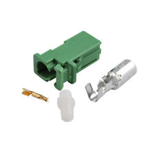 3x AVIC connector Female green for HRS Pioneer GPS antenna AVIC-X710BT X910BT