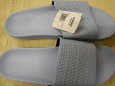 Adidas Mens Adilette,Easy Blue,14 M US