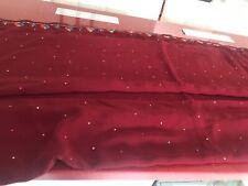 Indian Bollywood designer sarees/sari Maroon With Blouse