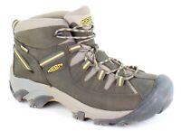 KEEN Mens Targhee Ii Black Olive/Yellow Hiking Boots Size 13 (1423017)
