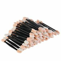 Double Ended Disposable Eye Shadow Sponge Wand Applicators Make up Brush UK