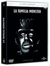 LA FAMILIA MONSTER SERIE TV COMPLETA 12 DISCOS DVD TEMP 1 2 NUEVO ( SIN ABRIR )